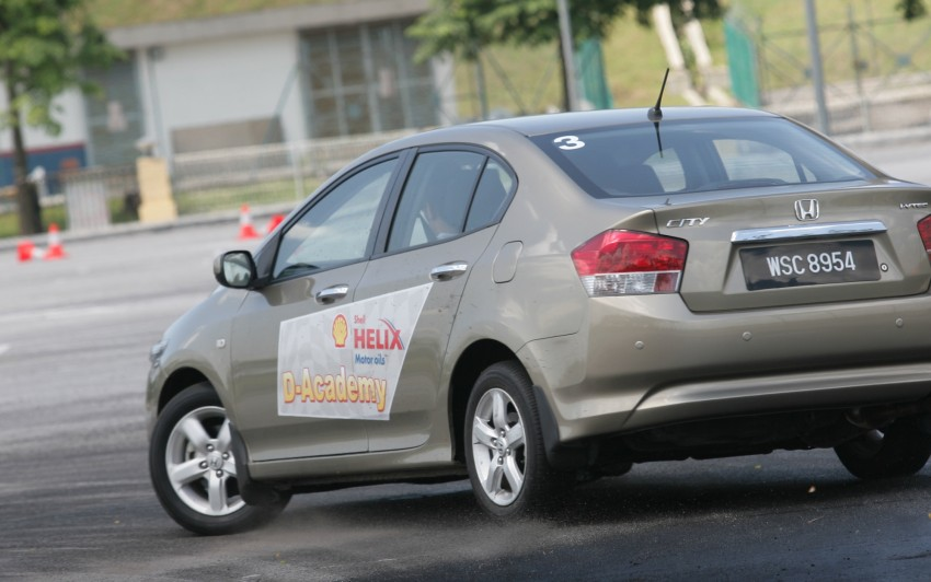 Shell Helix D-Academy: 42 participants walked away as better drivers! Image #88388