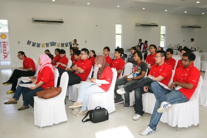 Shell Helix D-Academy: 42 participants walked away as better drivers! Image #88677
