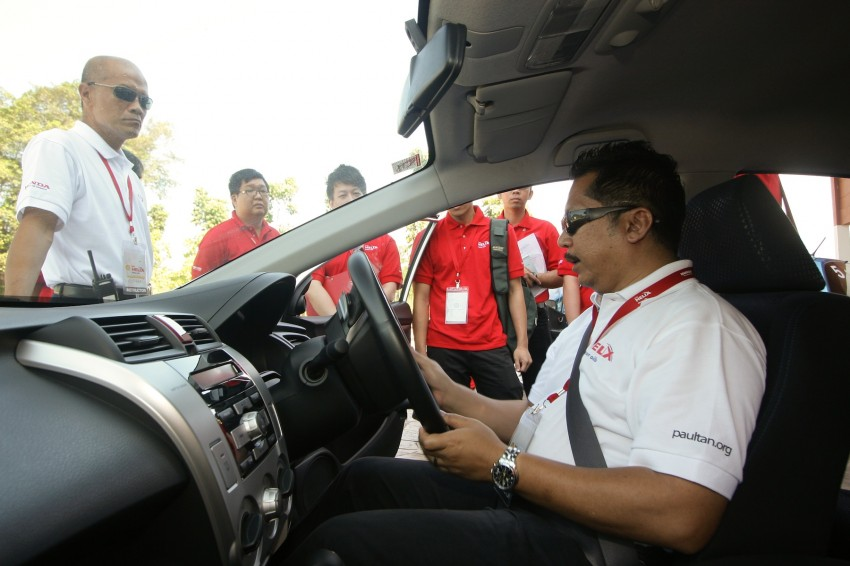 Shell Helix D-Academy: 42 participants walked away as better drivers! Image #88679