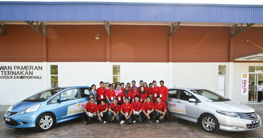 Shell Helix D-Academy: 42 participants walked away as better drivers! Image #88392