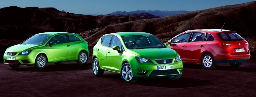 SEAT Ibiza – fourth-generation Typ 6J gets facelifted Image #84056