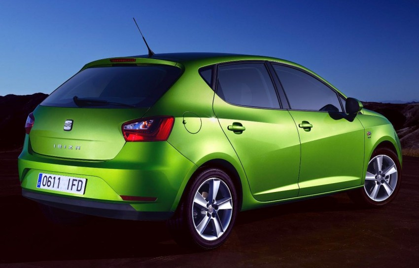 SEAT Ibiza – fourth-generation Typ 6J gets facelifted Image #84052