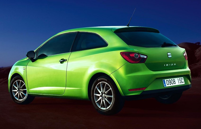 SEAT Ibiza – fourth-generation Typ 6J gets facelifted Image #84054