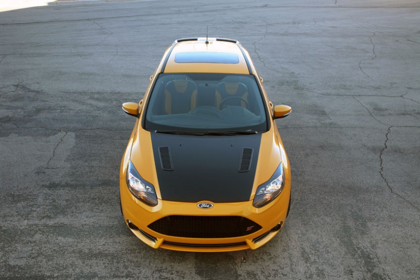 Shelby Focus ST unveiled at NAIAS Detroit 2013 Image #150286
