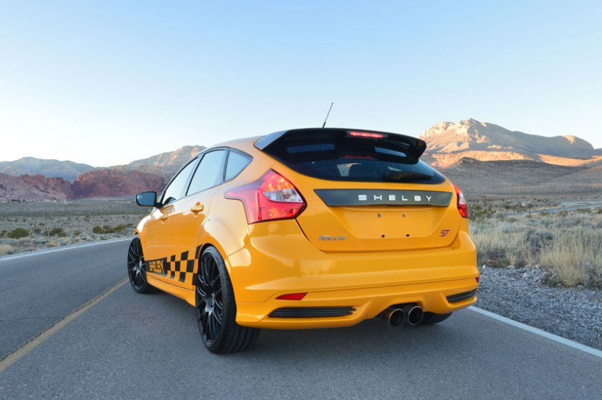 Shelby Focus ST unveiled at NAIAS Detroit 2013 Image #150288