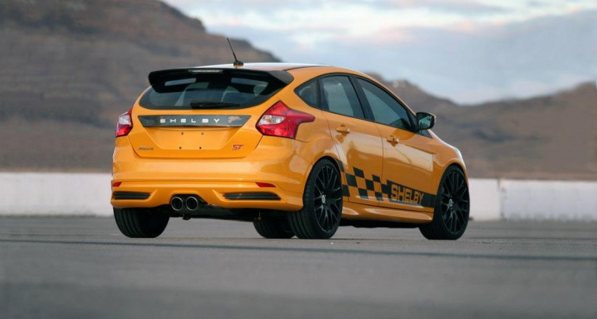 Shelby Focus ST unveiled at NAIAS Detroit 2013 Image #150291