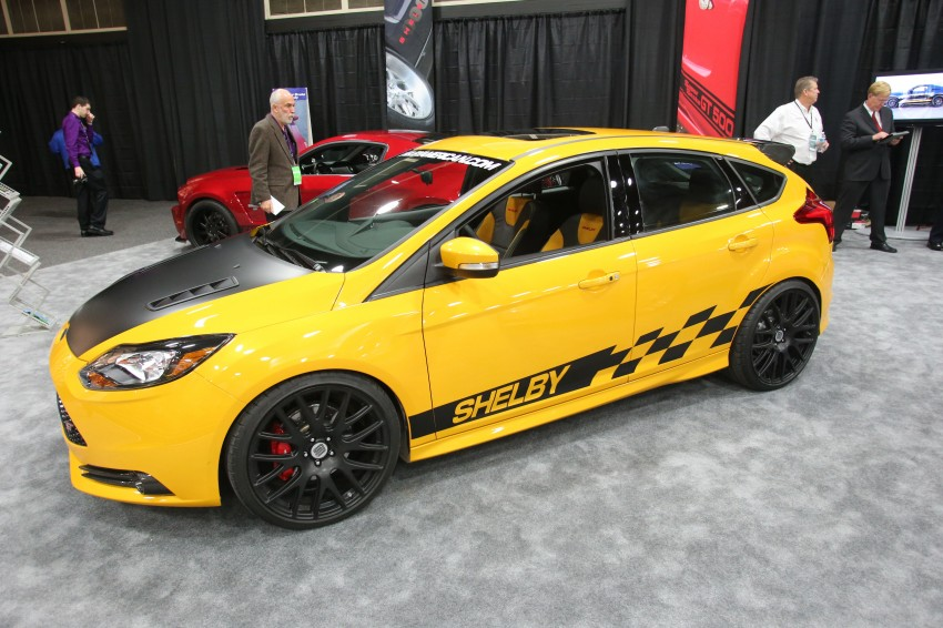 Shelby Focus ST unveiled at NAIAS Detroit 2013 Image #150295