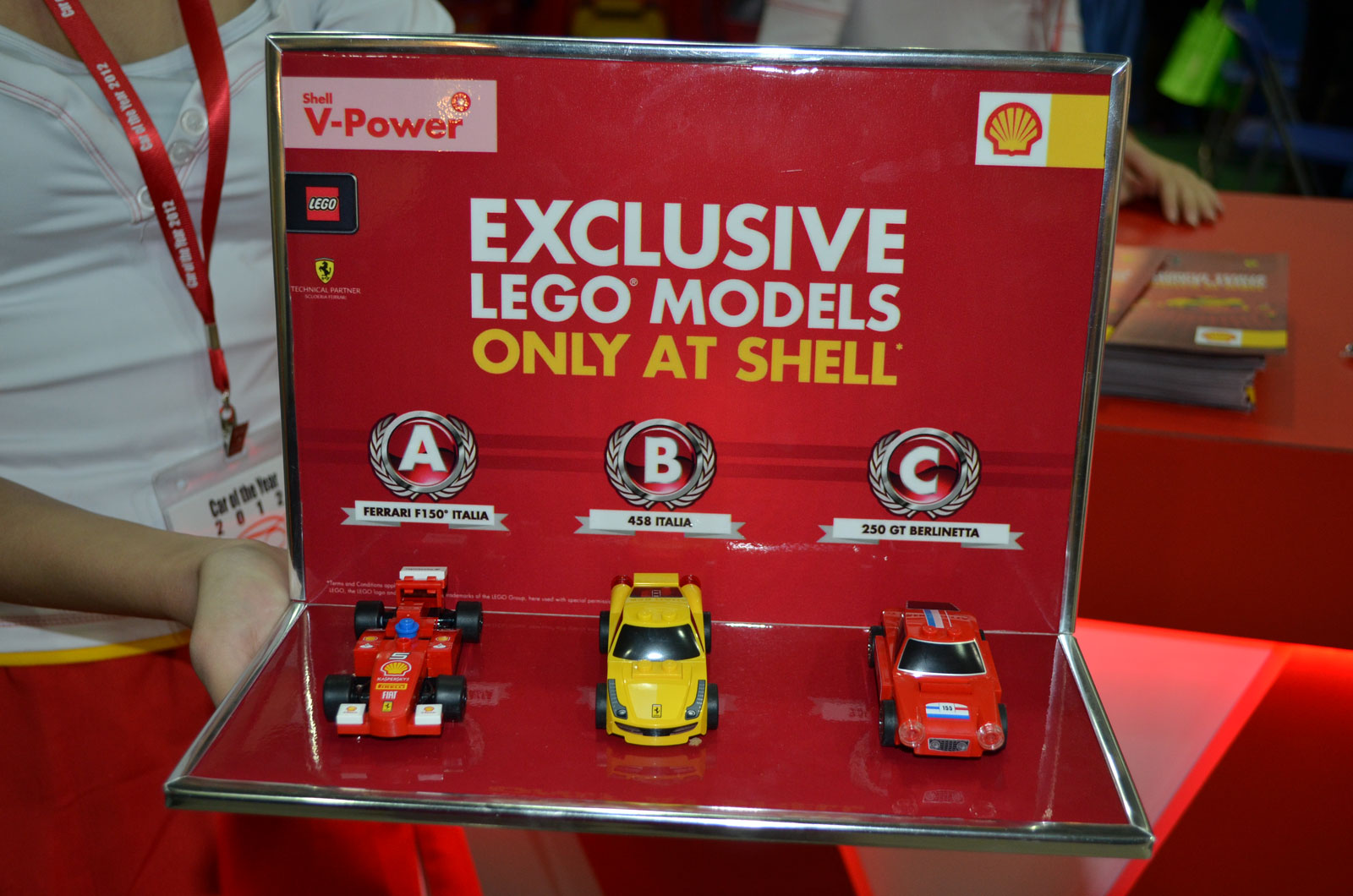 Shell Malaysia Lego Ferrari 6 Choices Rm12 90 Each Image