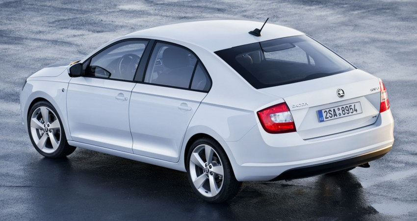 Skoda Rapid – compact sedan to bow in at Paris Image #113553