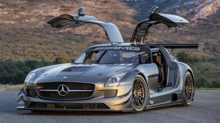 Mercedes-Benz SLS AMG GT3 45th Anniversary: only 5 Image #135513