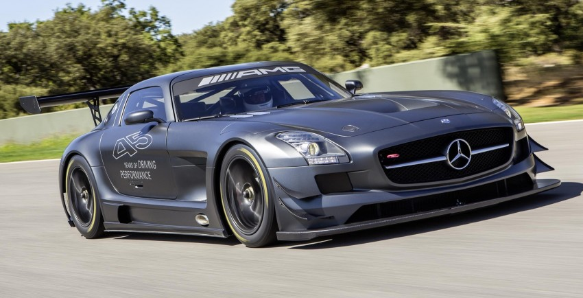 Mercedes-Benz SLS AMG GT3 45th Anniversary: only 5 Image #135512