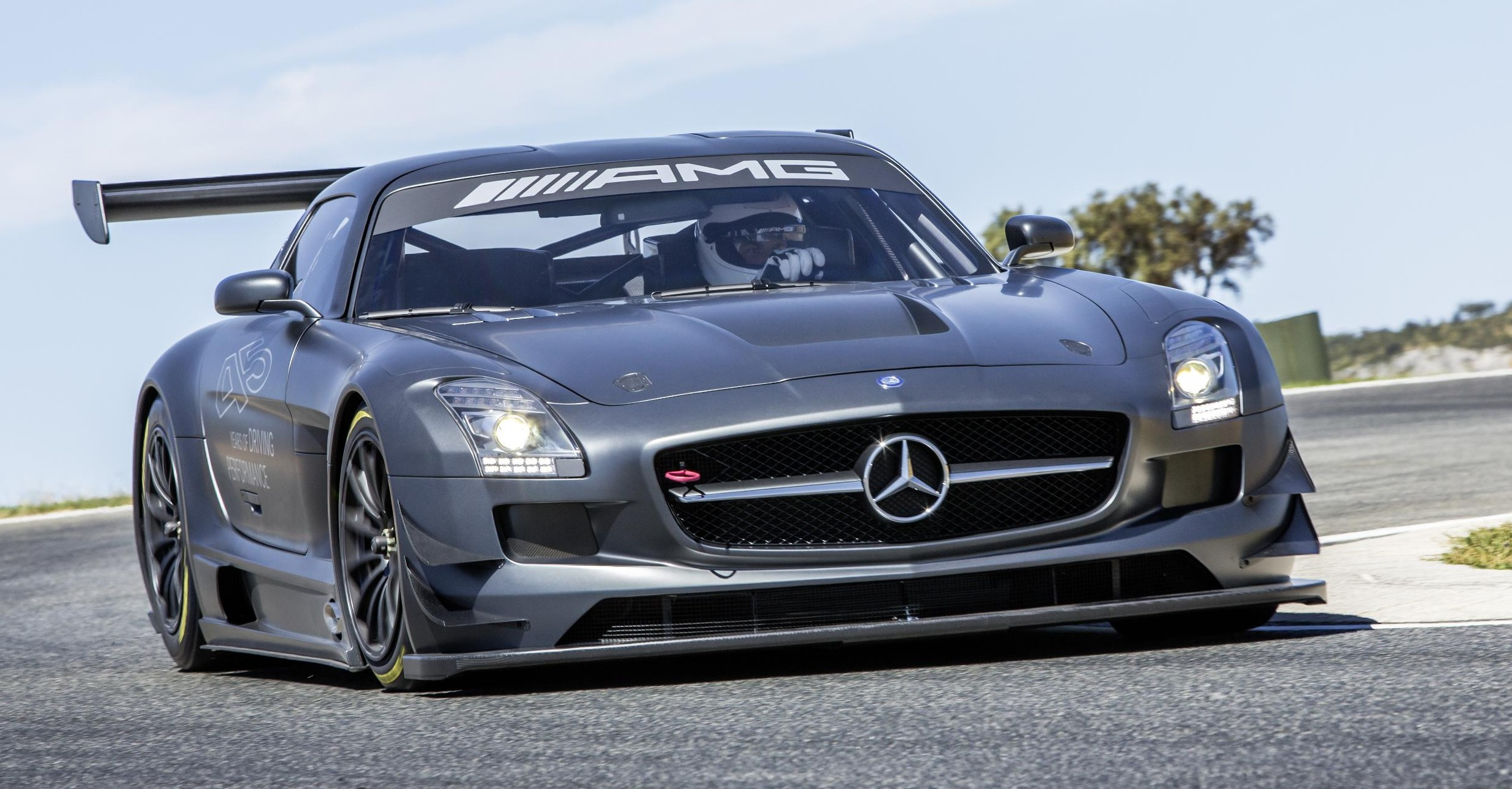 Mercedes Benz Sls Amg Gt3 45th Anniversary Only 5 Image