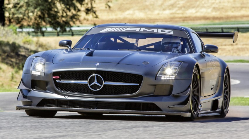 Mercedes-Benz SLS AMG GT3 45th Anniversary: only 5 Image #135508