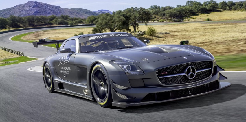 Mercedes-Benz SLS AMG GT3 45th Anniversary: only 5 Image #135507