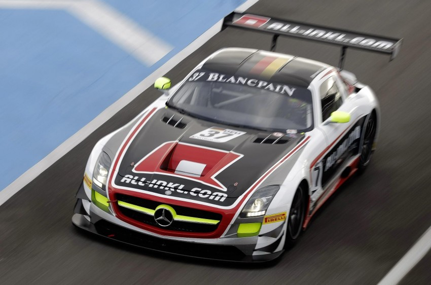 Mercedes-Benz SLS AMG GT3 45th Anniversary: only 5 Image #135506