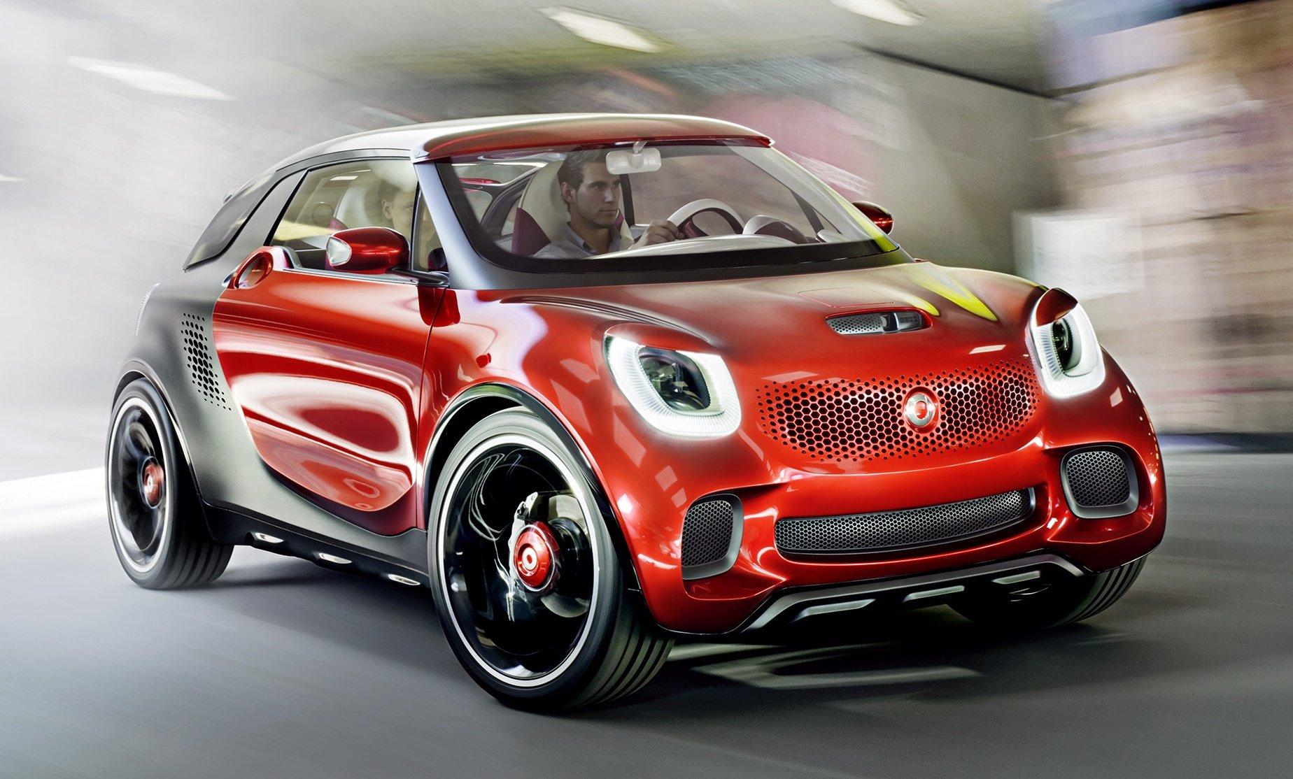 smart forstars Concept – a dazzler that's Paris-bound ...