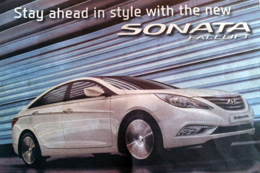 Hyundai Sonata YF Facelift now on sale in Malaysia Image #148435