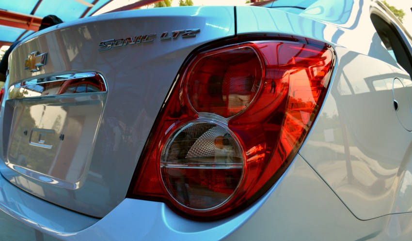 DRIVEN: Chevrolet Sonic LTZ sedan and hatchback previewed – Orlando MPV also given a short spin Image #140243