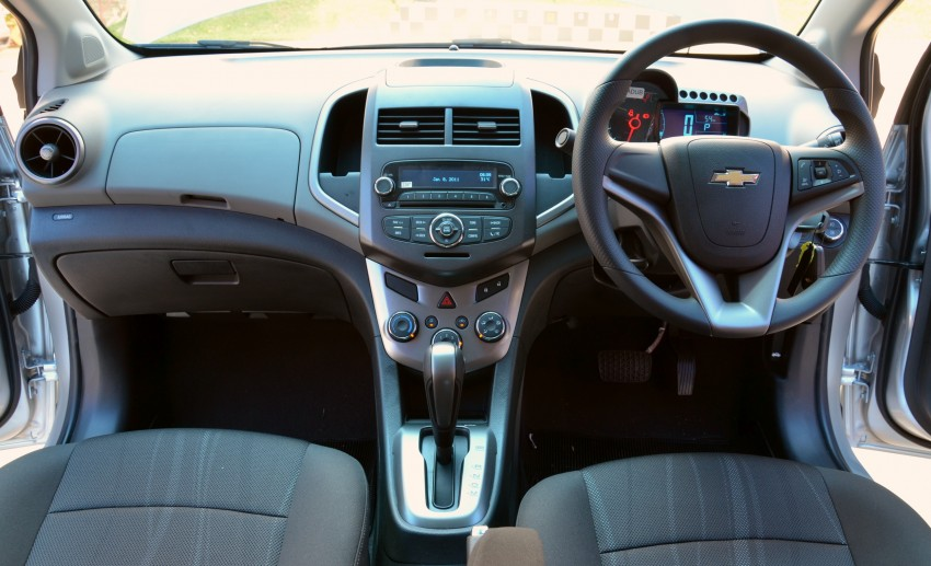 DRIVEN: Chevrolet Sonic LTZ sedan and hatchback previewed – Orlando MPV also given a short spin Image #140239