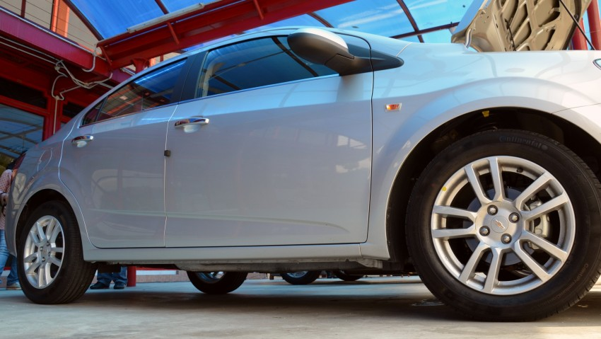 DRIVEN: Chevrolet Sonic LTZ sedan and hatchback previewed – Orlando MPV also given a short spin Image #140232