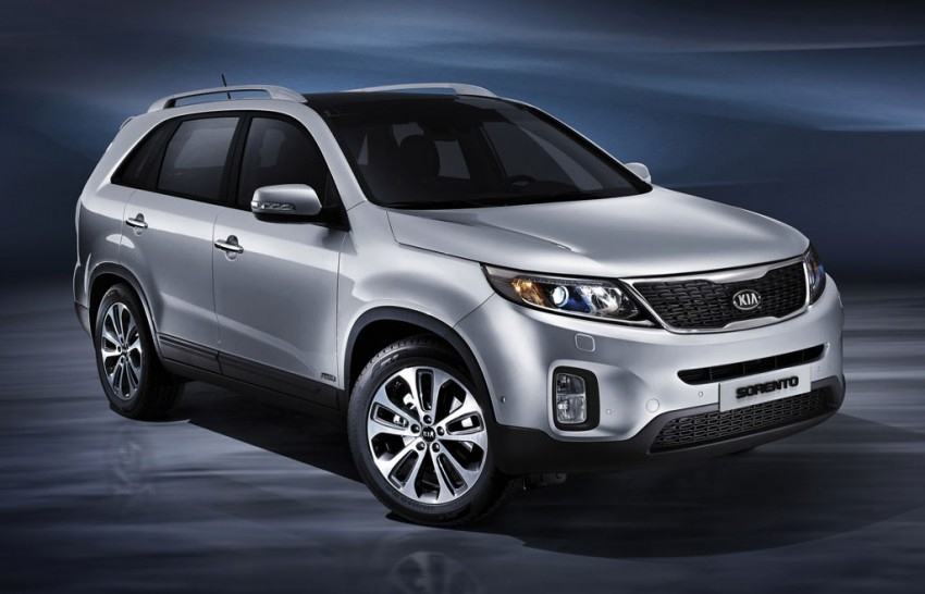 Kia Sorento SUV facelifted, interior upgraded Image #113453