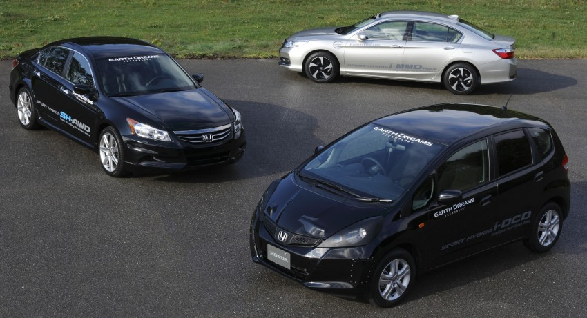 Honda Earth Dreams 2012 – new seven-speed Sport Hybrid Intelligent Dual Clutch Drive system unveiled Image #141430