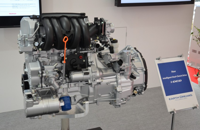 Honda Earth Dreams 2012 – new seven-speed Sport Hybrid Intelligent Dual Clutch Drive system unveiled Image #141429