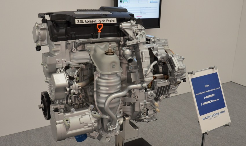Honda Earth Dreams 2012 – new seven-speed Sport Hybrid Intelligent Dual Clutch Drive system unveiled Image #141428
