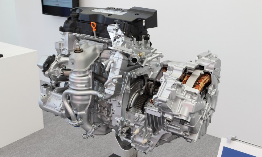 Honda Earth Dreams 2012 – new seven-speed Sport Hybrid Intelligent Dual Clutch Drive system unveiled Image #141420