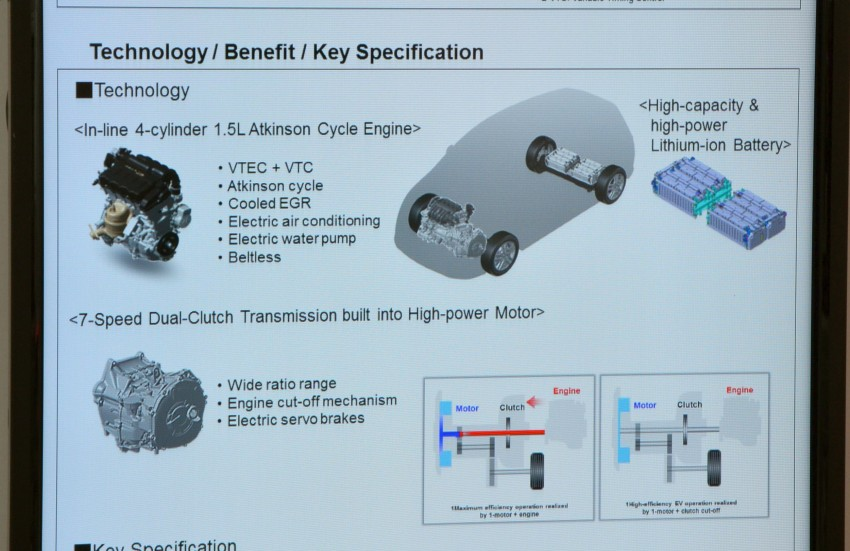 Honda Earth Dreams 2012 – new seven-speed Sport Hybrid Intelligent Dual Clutch Drive system unveiled Image #141416