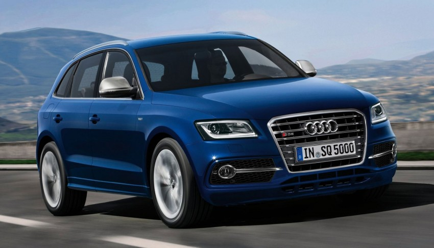 Audi SQ5 TDI – the first diesel-powered S car Image #112905
