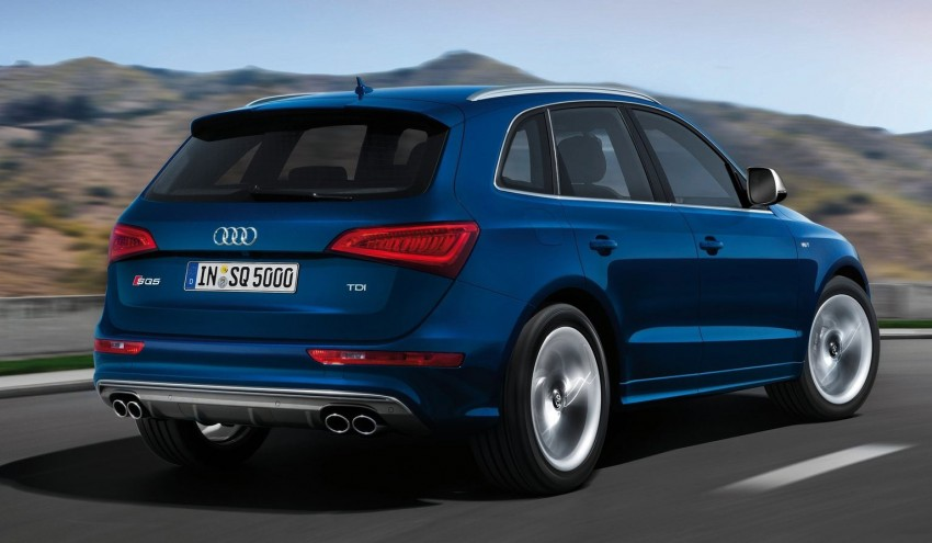 Audi SQ5 TDI – the first diesel-powered S car Image #112906