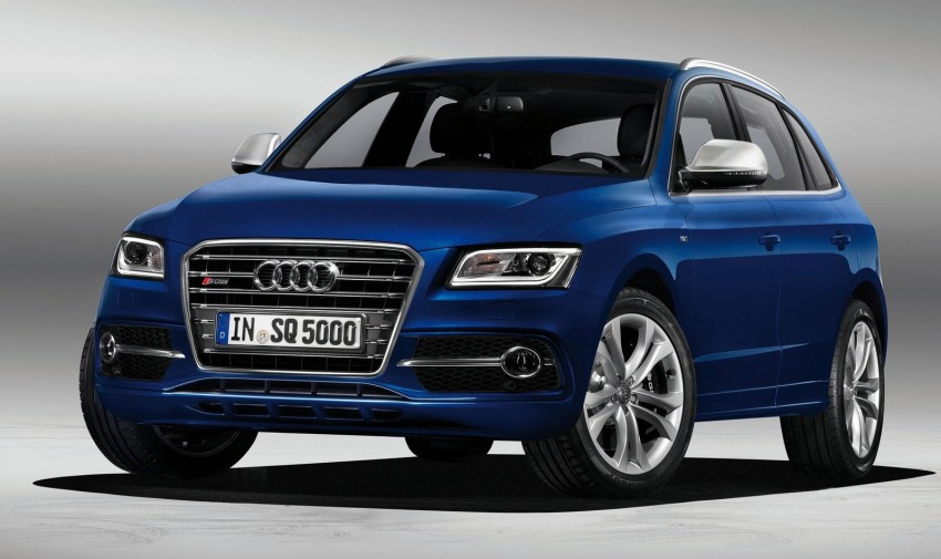 Audi SQ5 TDI – the first diesel-powered S car Image #112907