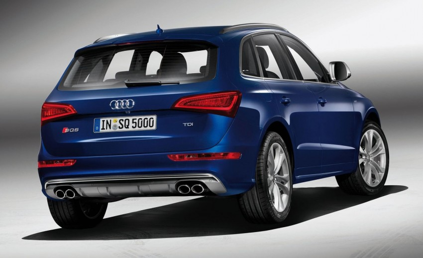 Audi SQ5 TDI – the first diesel-powered S car Image #112909