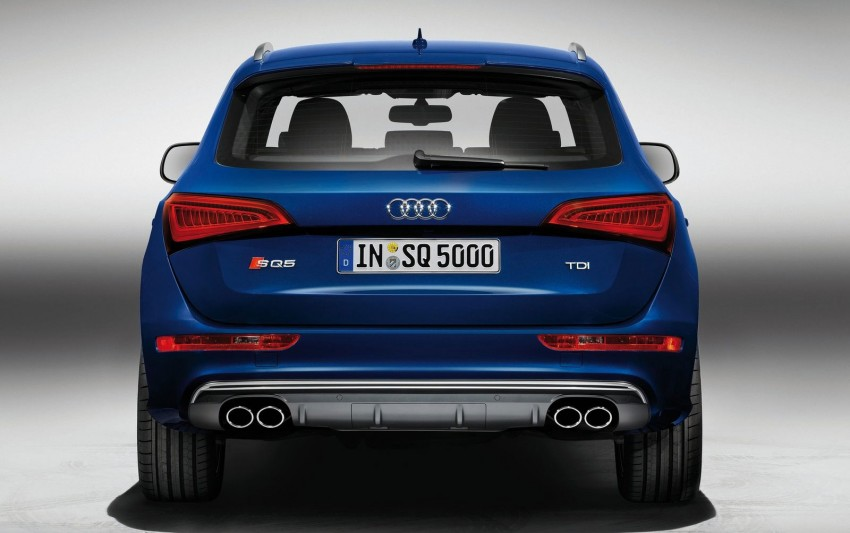 Audi SQ5 TDI – the first diesel-powered S car Image #112911