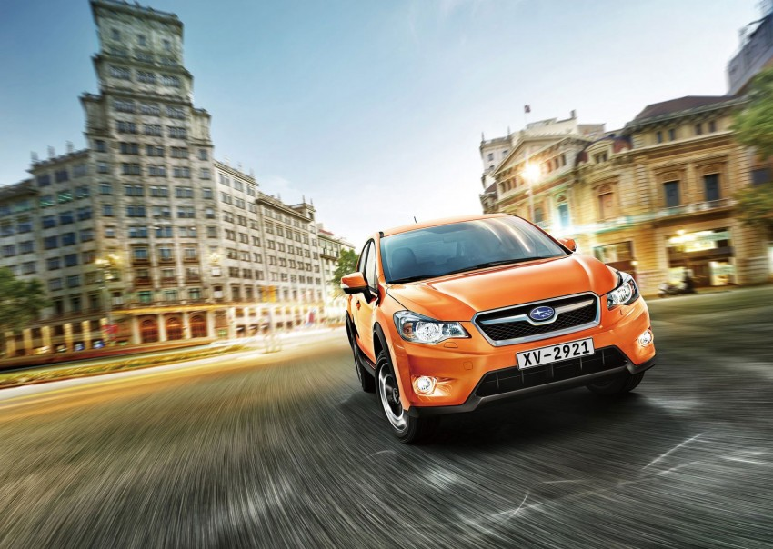 Frankfurt: Production Subaru XV debuts – CKD next year! Image #68709