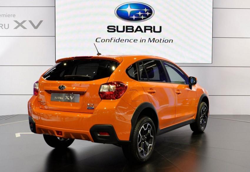 Frankfurt: Production Subaru XV debuts – CKD next year! Image #68710