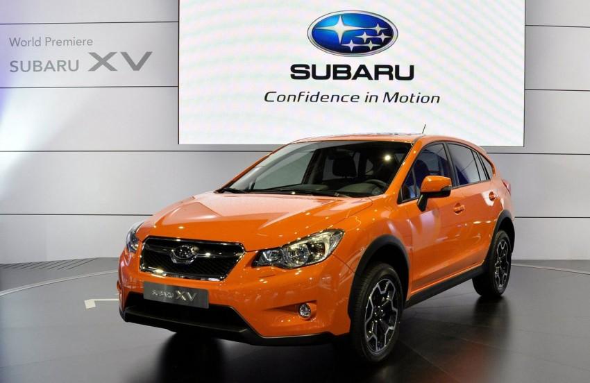 Frankfurt: Production Subaru XV debuts – CKD next year! Image #68711