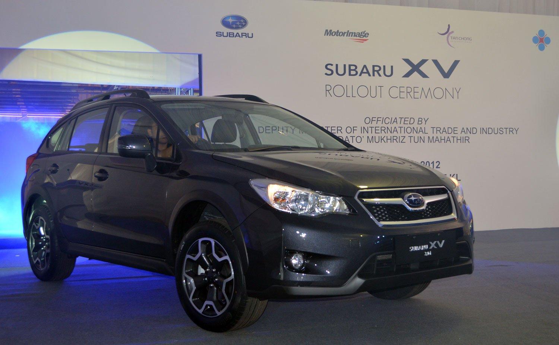CKD Subaru XV official roll out at Tan Chong's Segambut ...