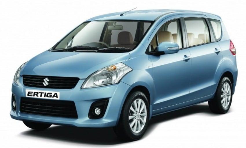 Suzuki Ertiga MPV to be introduced in Indonesia Image #91631