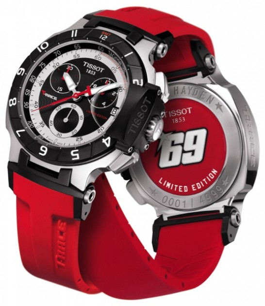 4d59597f405 Tissot 2010 T-Race Nicky Hayden Limited Edition