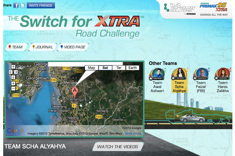 Team Scha Alyahya hits the ground running in the Petronas Switch for XTRA Road Challenge! [AD] Image #143425