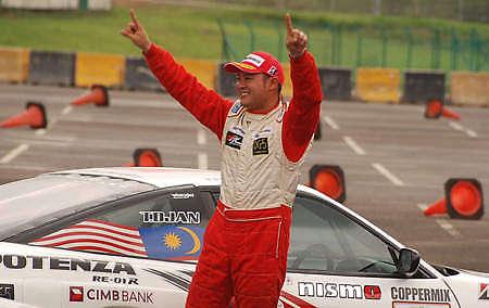 Tengku Djan wins Goodyear Formula Drift Malaysia! Image #19197
