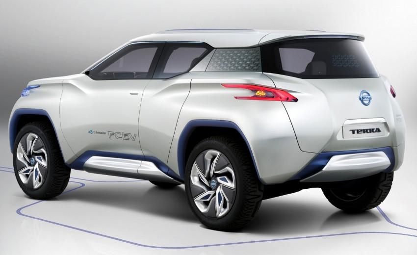Nissan TeRRA concept – images leaked ahead of Paris Image #130704