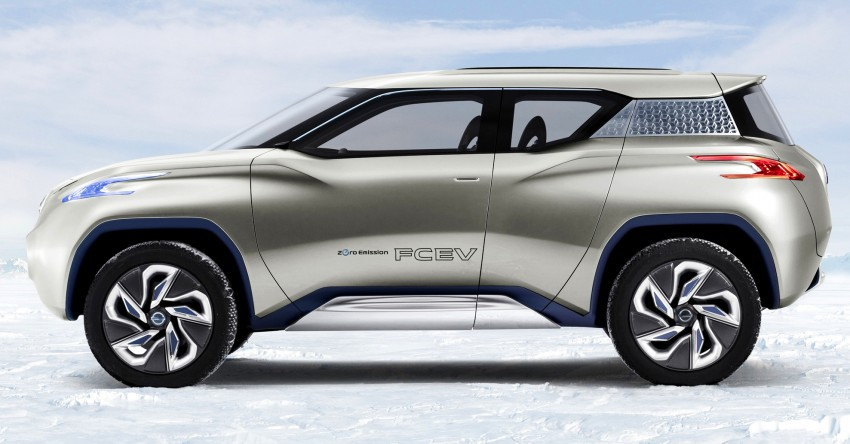 Nissan TeRRA concept – images leaked ahead of Paris Image #130707