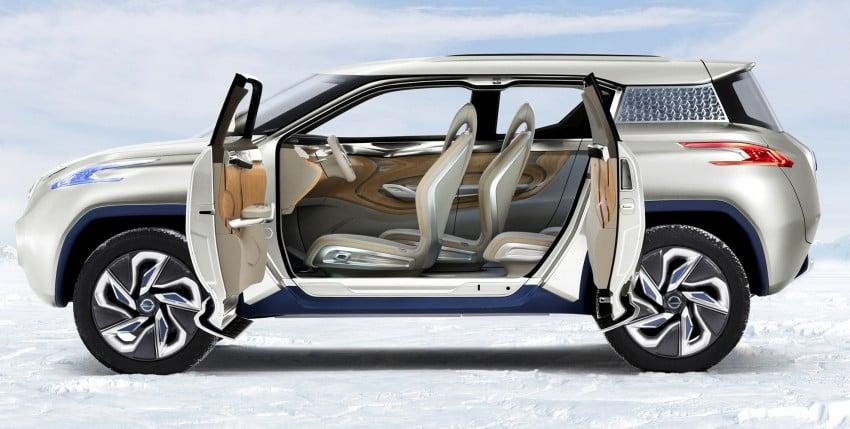 Nissan TeRRA concept – images leaked ahead of Paris Image #130708
