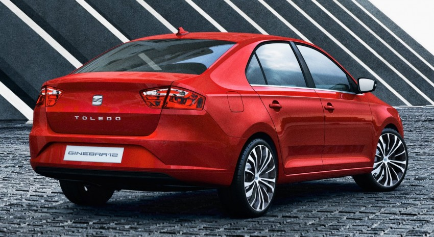 Seat Toledo returns – concept to preview the Mk4 sedan Image #91282