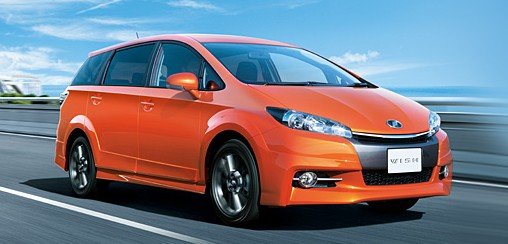 Toyota Wish facelift for 2012 on sale in Japan Image #106815