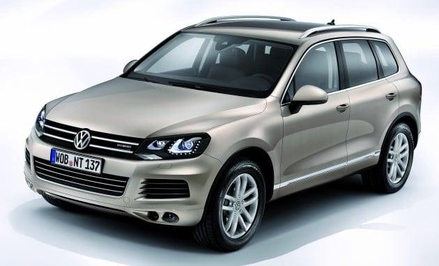 Volkswagen Touareg Hybrid Introduced Rm617k