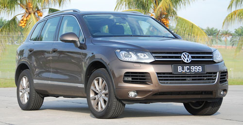 Test Drive Report: Second-generation Volkswagen Touareg Image #47965